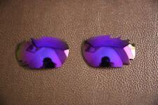 Lente polarizada púrpura para Polarlens-Gafas de sol Oakley Jawbone/Racing Jacket