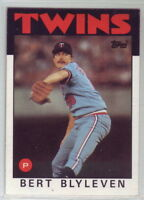 1986 Topps Baseball Minnesota Twins Team Set