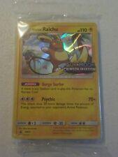 Pokemon - Crimson Invasion Alolan Raichu SM72 Prerelease Pack - Sealed