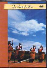 THE SPIRIT OF AFRICA - VARIOUS ARTISTS - DVD (NUOVO SIGILLATO)