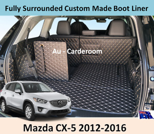 For Mazda CX-5 2012-2016 Custom Made Trunk Boot Mats Liner Cargo Mat Cover