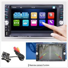 6.6 Inch HD Car MP3 MP5 Player 12V Video Radio Bluetooth with Rear View Camera