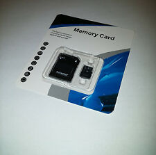 NEW 64GB microSDXC Memory Card Flash TF SDHC Class 10 Micro SD FREE SD Adapter