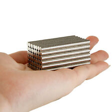 Bulk Small Round 4x1/1.5/2/3/4/5mm Disc Magnets Powerful Craft NdFeB Magnet N35