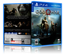 God of War - Replacement PS4 Cover and Case. NO GAME!!