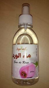 Naturreines Rosenwasser/Rosenblütenwasser 250ml original aus Marokko 4,48€/100ml
