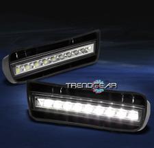 1999-2004 VW GOLF IV MK4 BUMPER DRL LED FOG LIGHTS LAMPS CHROME DAYTIME RUNNING