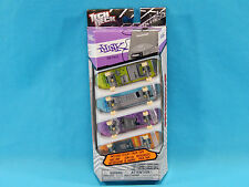 Tech Deck Think Retro 4 Pack Mini Skateboards New Sealed Spin Master 2012