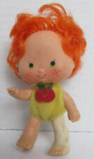 Red Haired Strawberry Toy Doll - 3 inch tall