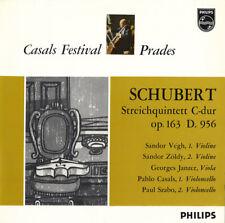CASALS Cello SCHUBERT String Quintet VEGH ZOLDY SZABO Philips 835099AY Red/Slvr