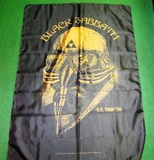 BLACK SABBATH  TEXILE POSTER FLAG  RARE NEW NEVER OPENED OZZY OSBOURNE
