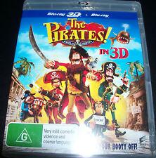 The Pirates / 3D + Bluray (Australian) Blu-ray - New