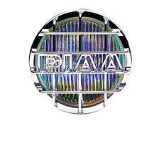 NEW SET 05263 PIAA 520 CHROME ION YELLOW DRIVING LIGHT HALOGEN LAMP KIT 85W