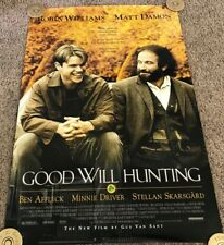 Original 1997 Good Will Hunting Movie Poster, SS, Rolled, 27x40