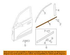 KIA OEM Sorento-Door Window Sweep-Belt Molding Weatherstrip Right 822202P000