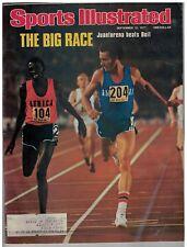 Sept 12 1977 issue of Sports Illustrated Racer's Juantorena &  Boit