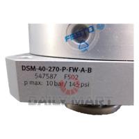 New In Box FESTO DSM-40-270-P-FW-A-B,547587 Semi-rotary Drive