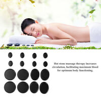 SHENGONG 16 pcs SPA pro Hot Stone Massage Basalt Rocks Oval Shape New set BA16