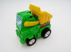 Vintage 80's Nomura Japan Mighty Mo Friction Shovel Dump Truck Ideal Toys