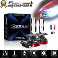 2x110W H7 LED Mini Phare Power Driving lamp Headlight Kit  Blance Voiture 6000K