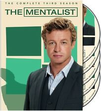 Mentalist: The Complete Third Season [5 Discs] DVD Region 1 WS