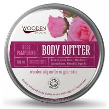 WS 100% Bio Organic Handmade Body Butter Rose Hydrate Dry Or Problematic Skin