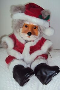 Raikes SantaBear with Box and COA. Tag and box. Excellent condition. 646/7500