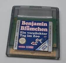 Nintendo Game Boy Color juego-Benjamin florecitas-uno de esos días locos en el zoo