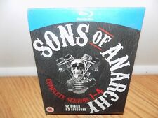 Sons of Anarchy Complete Seasons 1, 2, 3 & 4 (1-4) Blu-Ray Disc Region Free NEW