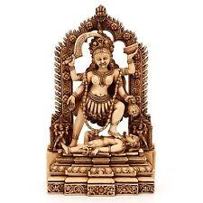 Hindu Goddess Kali Statue Shiva Alter Meditation Durga Kaali Maa Hindu Handmade