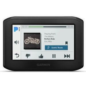 "GARMIN ZUMO 396 GPS Motorcycle Sat Nav 4.3"" TripAdvisor Slim Touchscreen"