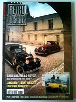RETROVISEUR n° 138; Dossier Cadillac/ Rolls-Royce/ Jaguar E Lightweight/Fiat 850