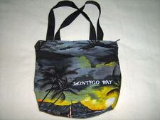 Tropical Jamaica Montego Bay Negril Handbag Bag Tote Satchel Palm Trees