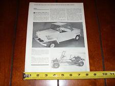 1966 KING MIDGET MOTORS ATHENS OHIO - ORIGINAL VINTAGE ARTICLE