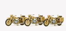 Preiser 16572 Moto BMW R 12,3 Pièces,Dr 1939-45,Kit de Montage,non Peinte,H0