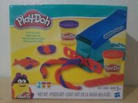 Play Doh Fun Factory Machine Childrens Play Set Two Colors of Clay Included
