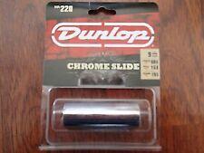 Dunlop 220 Chromed Steel Slide - Medium