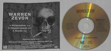 Warren Zevon - Rottweiler Blues + 2 -  U.S. promo cd