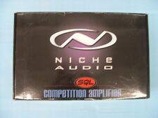 NICHE AUDIO SQL COMPETITION SERIES AMPLIFIER 1200 WATTS NA120.2C NEW