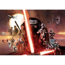 Star Wars PAPIER PEINT MURAL 254 x 184 cm Force Réveille Room Decor