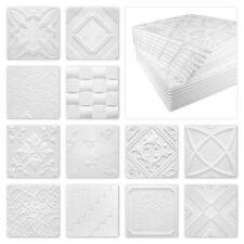 Marbet Styropor Deckenpaneele EPS weiß 30 verschiedene Dekore 50x50cm Sparpaket