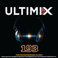 Ultimix 193 CD Ultimix Records Florida-Georgia Line PSY P!nk Showtek Grecia