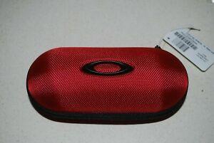 Oakley Ballistic Sunglasses Case Eyewear 00000300/100-286-001 Red NEW