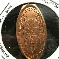"1976 GREAT EASTERN NUMISMATIC ASSOC. NY ""UNCLE SAM""  ELONGATED CENT SCARCE"