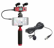Saramonic Smartphone Audio/Video Masters Kit for Including XLR Lavalier Mic