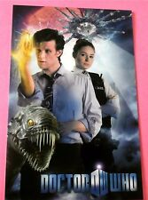 """Prisoner Zero Amy and the Doctor """"The Eleventh Hour"""" New Doctor Who Postcard"""