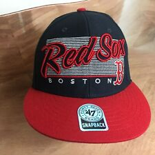 Boston Red Sox embroidered '47 Brand Snap back Hat Baseball