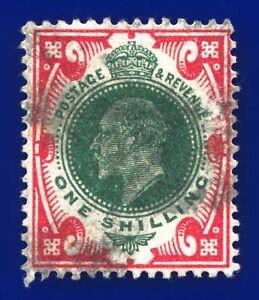 1912 SG314 1s Green & Carmine M47(5) Fair Used CV-FU £35 azof
