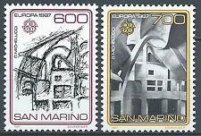 1987 SAN MARINO EUROPA MNH ** - ED