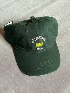 NEW 2004 Masters Tournament Green Hat